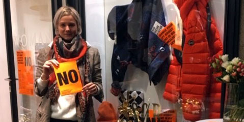 Diana aus Bremen sagt NEIN gegen Gewalt an Frauen