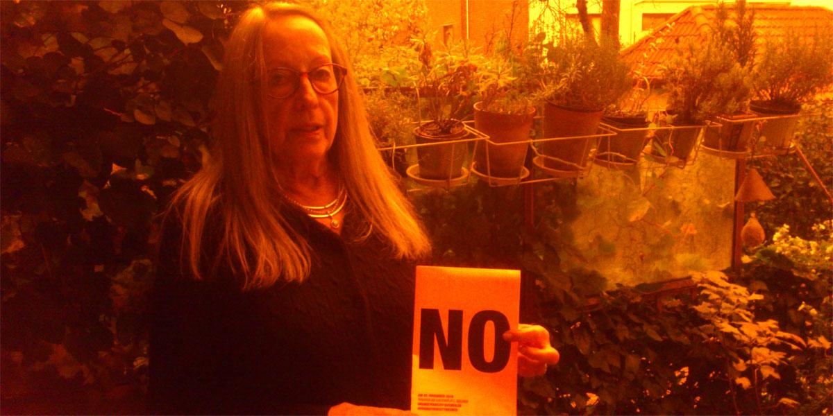 Hede aus Bremen sagt NEIN zu Gewalt gegen Frauen